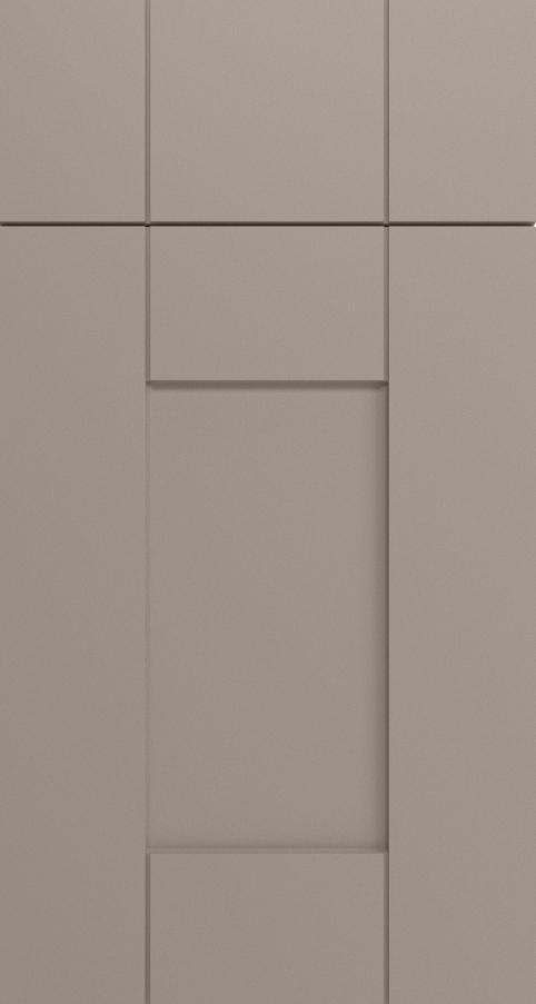 Cornwall Kitchen Door In Matt Stone Grey