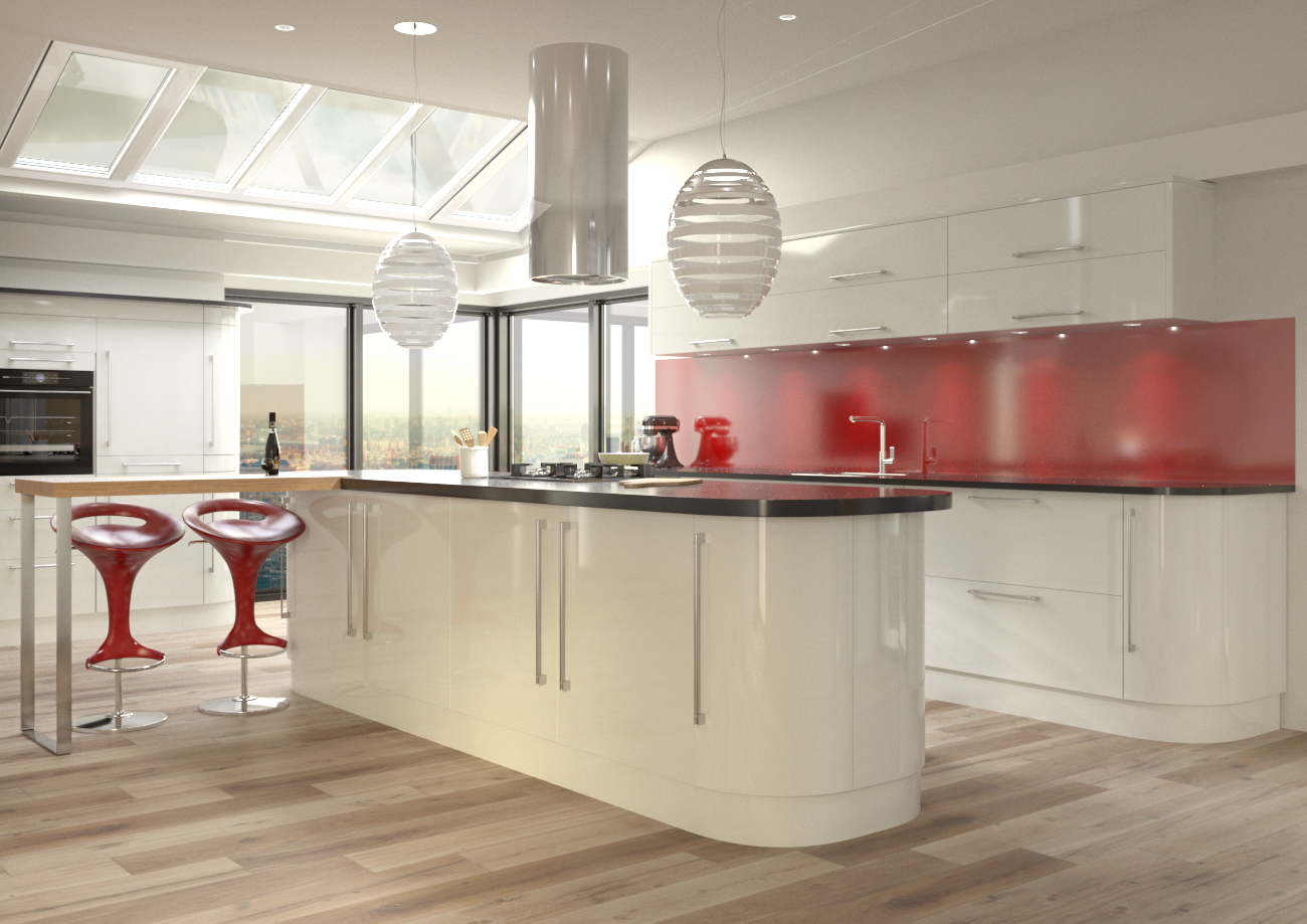 High Gloss Kitchen Doors Over 20 Colours 50 Off All Doors