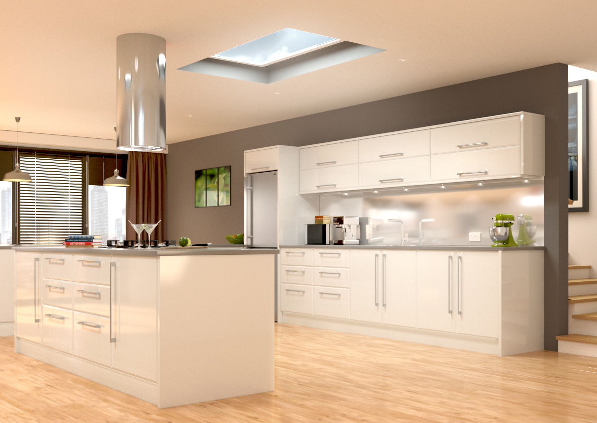 Plain Kitchen Doors